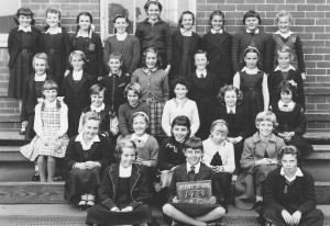 4th Class School Photo