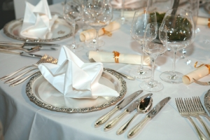 Formal Dinner Party Table