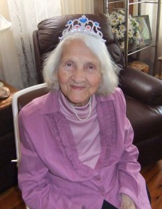 My beautiful ninety year old mother