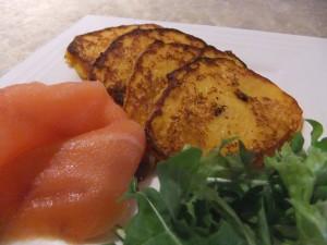 My Nigella Moment - Sweet Chilli Pumpkin Blinis