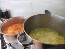 Winter Cook-Up - Bubbling Soup