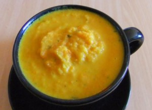 Winter Cook-Ups - Minted Carrot Soup