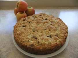 Sunday Musings ~ Apple Crumble Cake