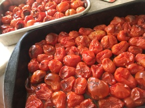 Roasted Tomatoes - Sunday Musings