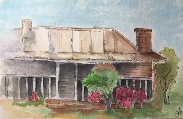 House - First Watercolour