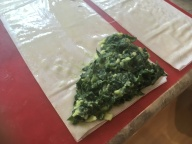 Spinach Triangles Filling