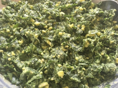 Spinach Triangles Mix